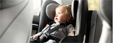 How to place a child's seats in a car